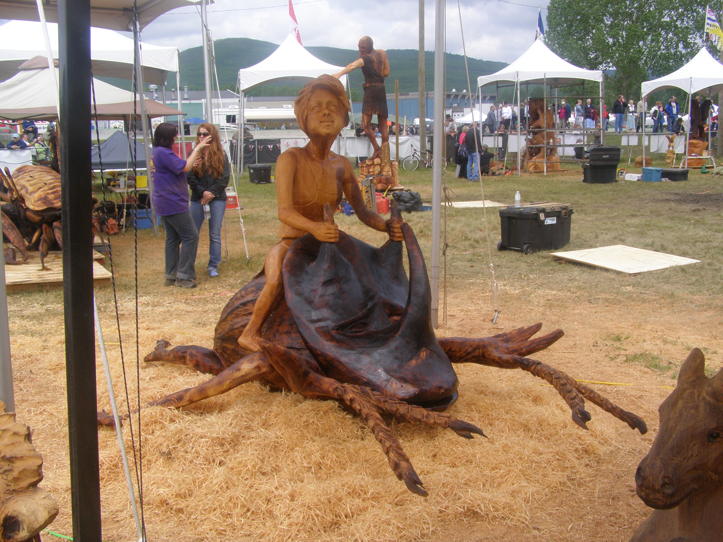 Chetwynd Chainsaw Carving Championship 2012