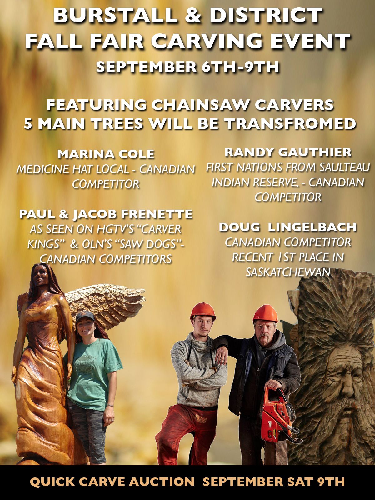 Burstall Chainsaw Carving Event