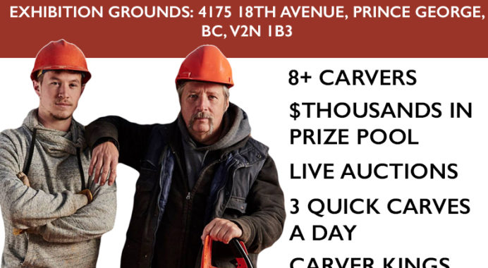 Randy Gauthier's Prince George Chain Saw Carving Competition!