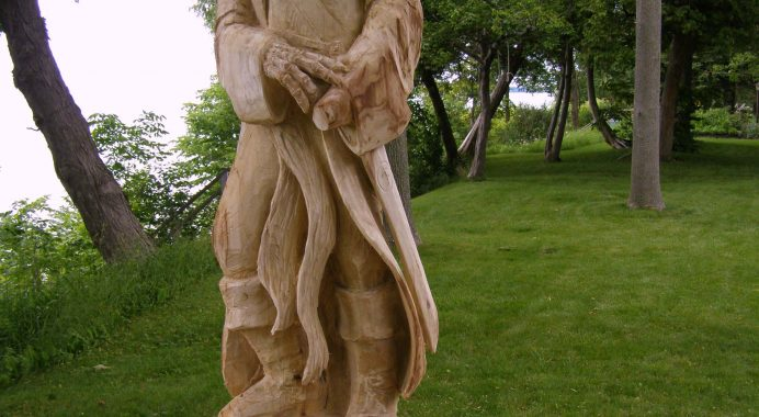 Pirate Carving in Grand Bend Ontario